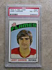 1976 76-77 OPC O-PEE-CHE #297 LARRY CARRIERE Graded PSA 8