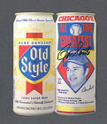 Ron Santo signed Old-Style beer advertisement from 1990