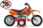 1 SET OF KTM 50 MINI ADVENTURE JUNIOR KTM50 TRAINING WHEELS LQQK.