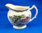 Johnson Brothers THE FRIENDLY VILLAGE Creamer 3.5 in. Red Barn Village Scene