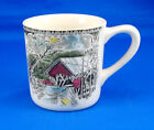 Johnson Brothers THE FRIENDLY VILLAGE Mug 3.375 in. COVERED BRIDGE MadeInEngland