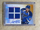 09-10 The Cup Foundations Quad Jersey Auto RC Rookie LARS ELLER 10