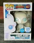 Funko Pop! Glitter Light Fury #687 How To Train Your Dragon Funko Shop Exclusive
