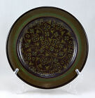 Franciscan MADEIRA (USA) Salad Plate 8.5 in. Tan Flowers Vines Brown Green Band