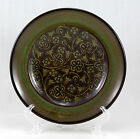 Franciscan MADEIRA (USA) Bread and Butter Plate 6.75 in. Tan Flowers Vine Brown