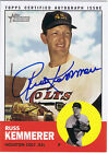 2012 Topps Heritage Real One Autographs #RK Russ Kemmerer Colt .45s