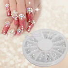 New Wheel Case Nail Art Decoration Round White 11#