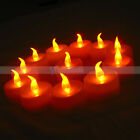 Lot 12Pcs New Flicker Light Flameless LED Tealight Tea Candles Home Decoration