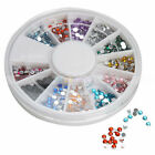 New 12 Colors Wheel Case Nail Art Decoration Round