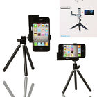 New Mini Tripod Stand Mount with Holder for iPhone 3G 3GS 4 4G iTouch Black