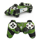 New Army Silicone Skin Cover Case For PS3 Controller green+white+black
