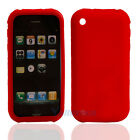 New Silicone Sillicon Case for iPhone 3G 3GS Red