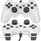 New wired Game Controller pad for Sony Playstation 3 ps3 white with cable