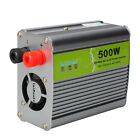 New 500W Car Power Inverter DC 12V to AC 220V Adapter with Travel Adaptor
