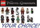 Lego Pirates of the Caribbean Disney Minifig YOUR CHOICE Figures Jack Sparrow