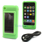 New 1500mah Solar Power Charger Case for iPhone 3G 3Gs 4 Green