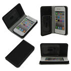 New Wallet PU Leather Credit Card Holder Pouch Case Cover for iPhone 4 4S