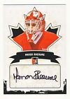 Manon Rheaume 2010-2011 In The Game ITG Canadiana Autographed Auto Card #A-MR1