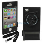 New Deluxe Cute Camera Style Hard Plastic Case Cover Skin for iPhone 4 4S Black
