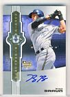 Ryan Braun 2007 UD Ultimate Collection Rookie Signatures Autograph RC 179 299