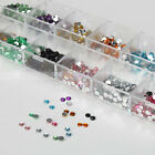 3000X 2.0mm Nail Art Rhinestones 12 colors Round Glitters Tips Manicure Deco
