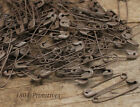 144 Rusty Tin LOOK 1 1 8 Safety Pins Primitive Crafts