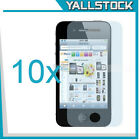 New 10x Clear Screen Protector Body Cleaning Cloth for iPhone 4/4S
