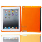 Hot Soft Gel TPU Protective Back Case Smart Cover for Apple iPad 2 2nd Orange