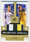 Juan Pablo Angel Jamison Olave 2011 SP Game Used Soccer Dual Jersey Card 03 25