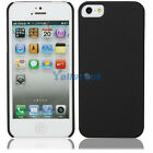 New Fashion iPhone Case Oil Spray Hard Cover Case for iPhone 5 Black
