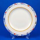 Fitz and Floyd REGATTA Salad Plate 7.75 in. Habitat Americana Sailboats Omnibus