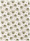Whispering Purple Heart Flowers by RJR Fabrics bty PRICE REDUCED