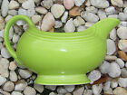 FIESTA WARE FIESTAWARE GRAVY SERVING BOAT BOWL LIME GREEN