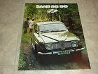 1972 SAAB 95 96 & STATION WAGON  LITERATURE MANUAL BROCHURE PAMPHLET