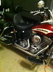 Harley Softail Thigh Heat Shield and Deflector XL Extra Long STUDS OR CONCHO