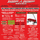 Radio Flyer Decal Sets We are The #1 Seller Dont Be Fooled