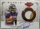 2011 Plates & Patches Torrey Smith SP Dual 2 C Patch Jersey Autograph #184 499
