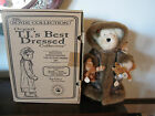 2001 Limited Edition Boyd's Bear Best Dressed Collection Fern Wood