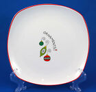 Fitz/Floyd MERRY CHRISTMAS MERRY CHRISTMAS Salad/Dessert Plate 8.125in Ornaments
