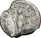 PHILIP I the Arab 247AD Ancient Roman Coin FELICITAS GOOD LUCK Wealth i23557