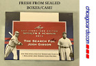 2012 Leaf Cut Signature Edition Sports Icons Hobby Box with 1 Josh Gibson Card