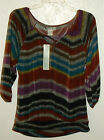 WOMENS VINTAGE SUZIE TOP SIZE S NWT