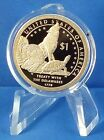 2013 S Native American Dollar Proof Coin Encapsulated Treaty with Delawares