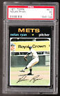 1971 Topps #513 Nolan Ryan Psa 5 graded New York Mets baseball card