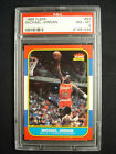 1986 FLEER MICHAEL JORDAN ROOKIE #57 GRADED PSA 8 NM-MT PERFECTLY CENTERED!!!!!
