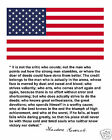 Theodore Roosevelt  American Flag