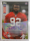 2012 Topps Kickoff Dontari Poe SP Autograph Auto Rookie Card # 67 165