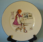 LENOX SPECIAL 1 DECORATIVE PLATE LITTLE GIRL AND HER TOYS CUTE