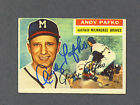 Andy Pafko Cards and Autograph Memorabilia Guide 8
