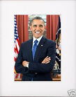 President Barack Obama Matted Photo Picture m2